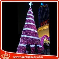 The artificial parts christmas decoration tree