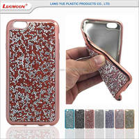 electroplating tpu case with diamond for samsung i9190 galaxy s4 mini
