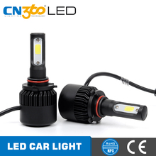 CN360 All In One Extremely Bright 12v HB3 9005 Car Led headlight Replace for Halogen or HID Bulbs