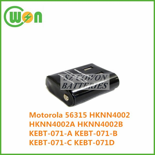 Two-way Radio kebt-071-d battery for Motorola 56315 HKNN4002 HKNN4002A HKNN4002B KEBT-071-A KEBT-071-B KEBT-071-C KEBT-071D