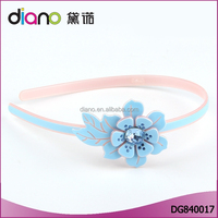 Various colors available fresf flower hairband wholesale hair accessories for women