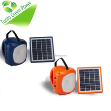 Led light 1w 120LM-130LM portable solar system charging mode solar panel 3m wire