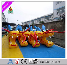 2016 outdoor mini inflatable water sport games inflatable dragon for adults and kids