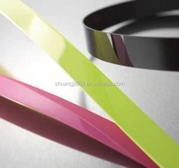 high gloss 3mm table and chair pvc edge banding tape