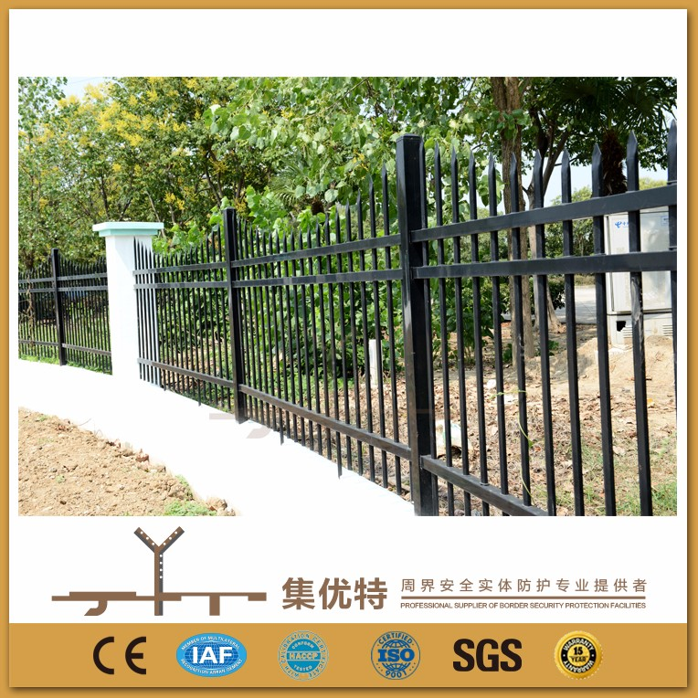 Used to factory powder coated galvanized steel prefab fence panels