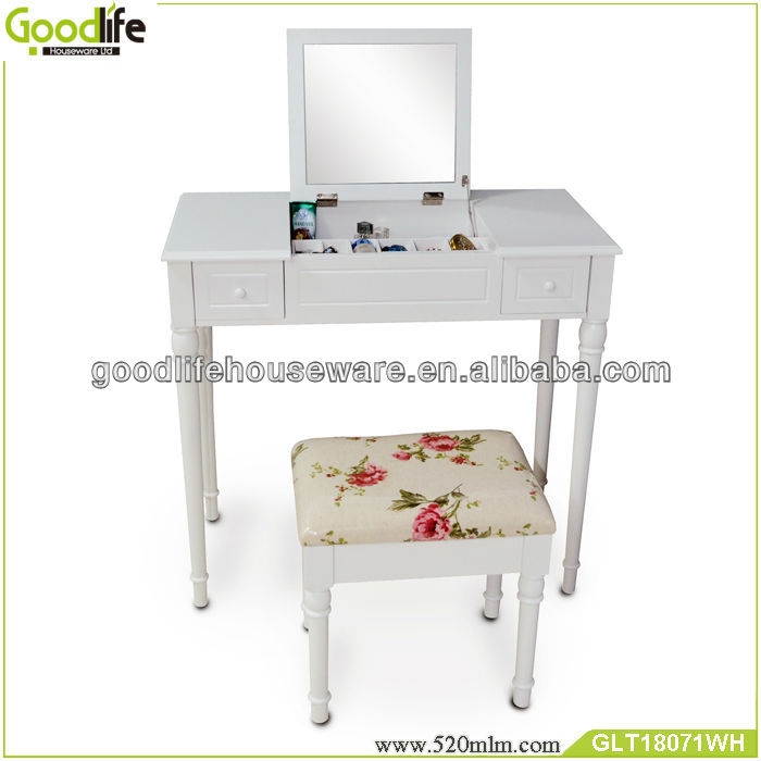 Goodlife GLT18071 Modern bedroom funiture makeup dresser from china