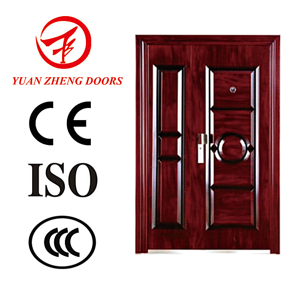 Whole mother and son steel security door design