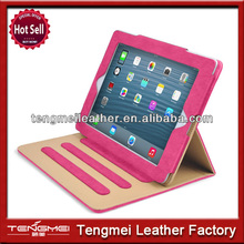 Wallet stand Smart cover case for ipad mini,Screen protector case for ipad mini