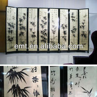 Bamboo Painting Folding Screen (EMT-P228)