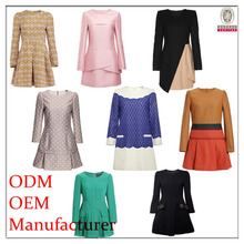 Hot sale fashion style top quality women's small quantity clothing manufacturer