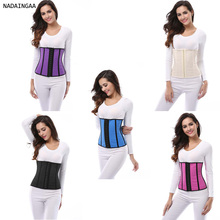 Wholesale 3,4,6 hooks Waist Training Women Sexy polyester Corset hot shapers waist trainer Top for Sale
