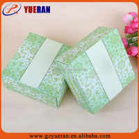 High quality custom logo recycled cardboard packaging essential oils foldable paper gift boxes wholesale