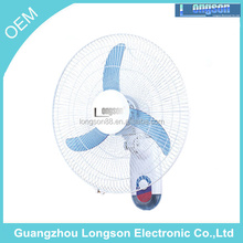 16 inch oscillating Home decoration wall mounted axial fan with great price