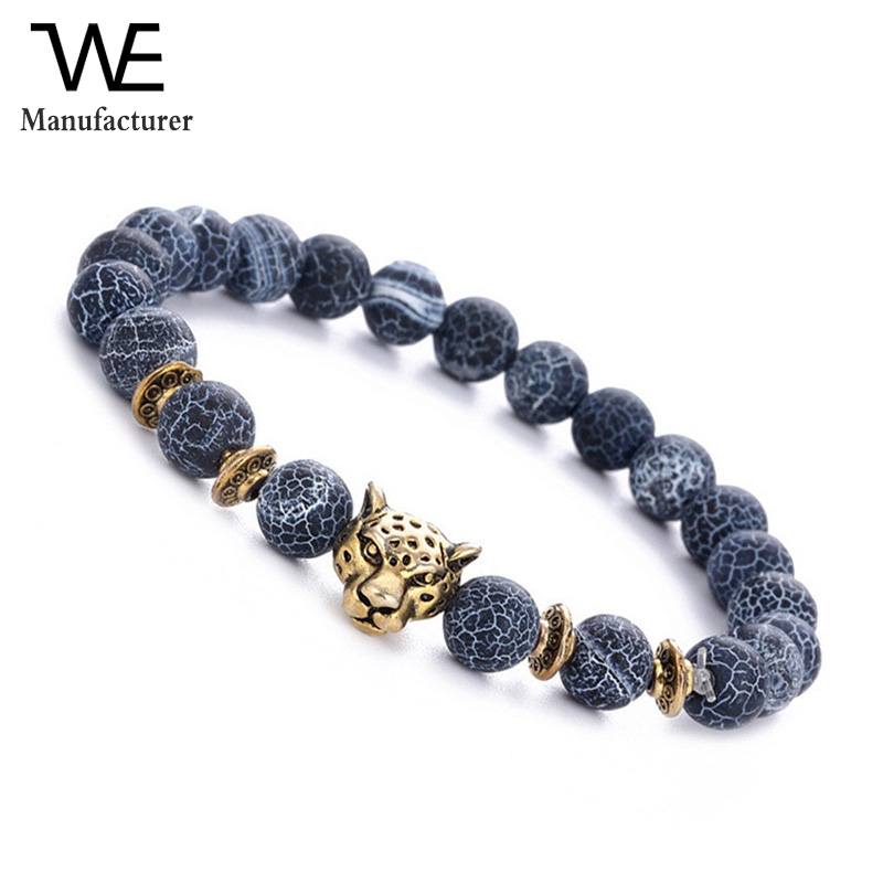 Fashion Couple Agate Beads Cheap Wholesale Bracelet