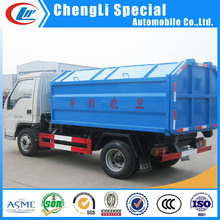 Waste collector mini Hook lift Garbage Trucks 3tons 5tons 6tons 8tons for sale
