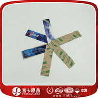 Windshield rfid uhf sticker using in car glass
