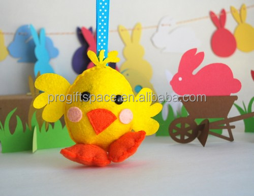2017 new hot sale China wholesale handmade fabric animal craft gift ornament felt inflatable Thanksgiving turkey decoration