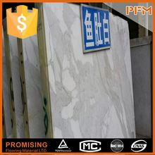 China Best Quality &High Polished white and grey cloud stone marble slab