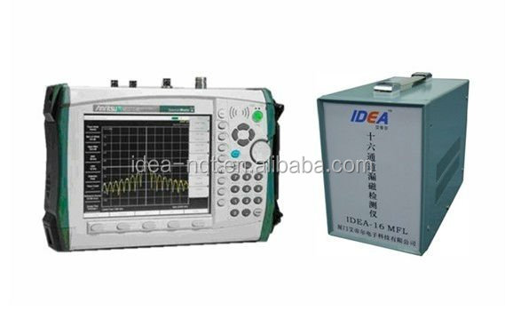 Magnetic flux leakage detector for metal wire