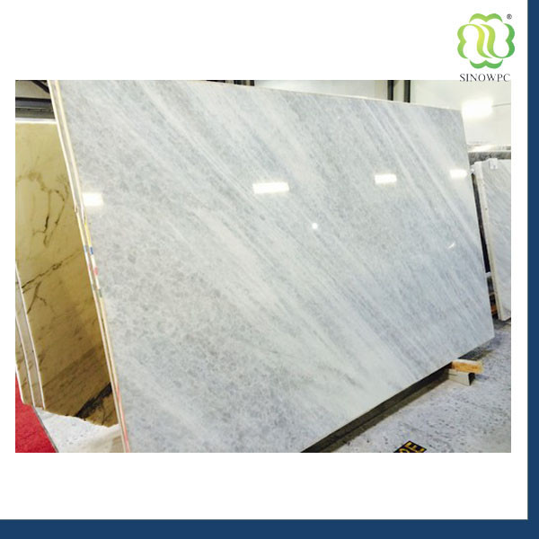 Imitation Stone Discontinued PVC Vinyl Marble Flooring Sheet Standard Size