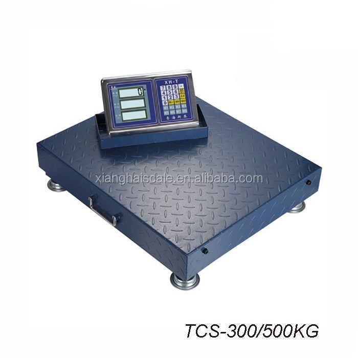 300/500kg Electronic Portable Wireless Floor Scale