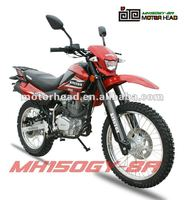 new 150cc 200cc 250cc engine Led turning light dirt bike MH150GY-8 classic BROZZ 150 model chinese motocross off road bike