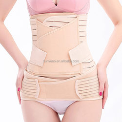 3in1 Women Postpartum Recovery Belly Waist Pelvis Belt Support Band Body Shaper Maternity Waist Trainer Corset Shapewear fabric