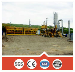 Engineer overall service small 20-40ton/h asphalt recycling equipment