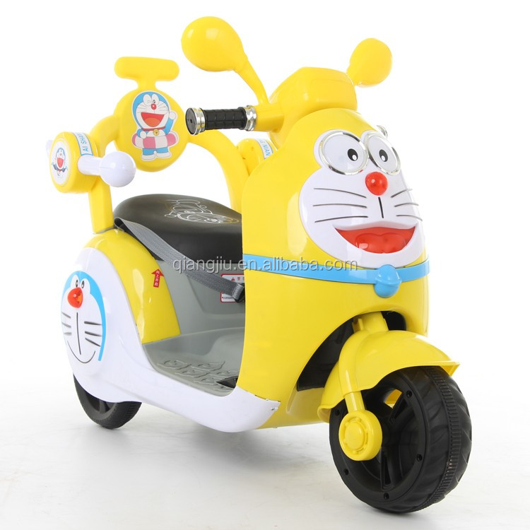 2017 new design 6V kids ride on electric motorcycle toy with MP3