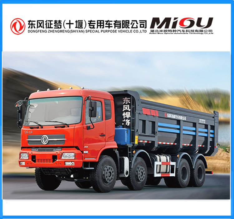 Factory direct sale 8x4 sand tipper truck