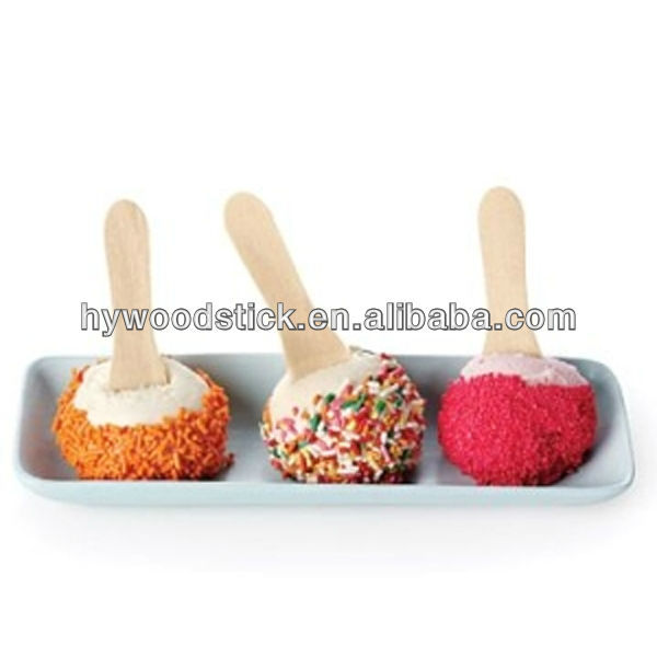 Promotional Wood Ice Cream Spoon In Bulk