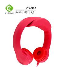 OEM Custom logo outdoor kids wired noise cancelling headset