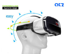 New Design 3D VR Headset Virtual Reality Glasses Helmet No Dizzy Feeling Compatible With 4.5-6.3inch Screen