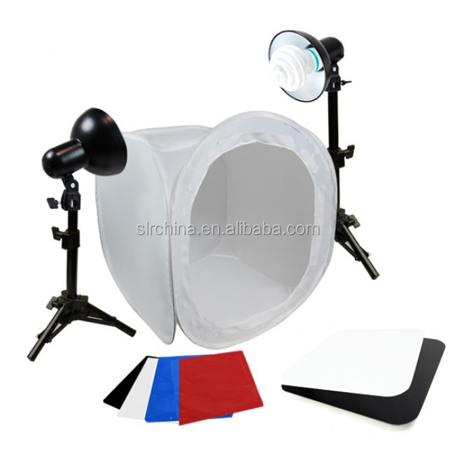 Photo Photography Complete Jewelry Lighting Kit Soft Tent, Lights & Display Table
