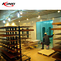 water curtain spray baking room design