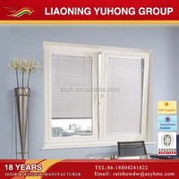 Cheap tilt and turn opening pvc louver windows
