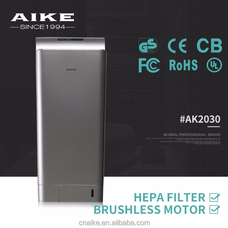 CE approved automatic dual air hand dryer for home