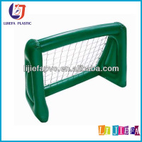Outdoor cheap toys Green Inflatable Football Goal Post portable with ball