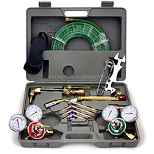 UWELD Tools H-501 Gas Welding & Cutting Torch w/ Hose Professional Set with Case