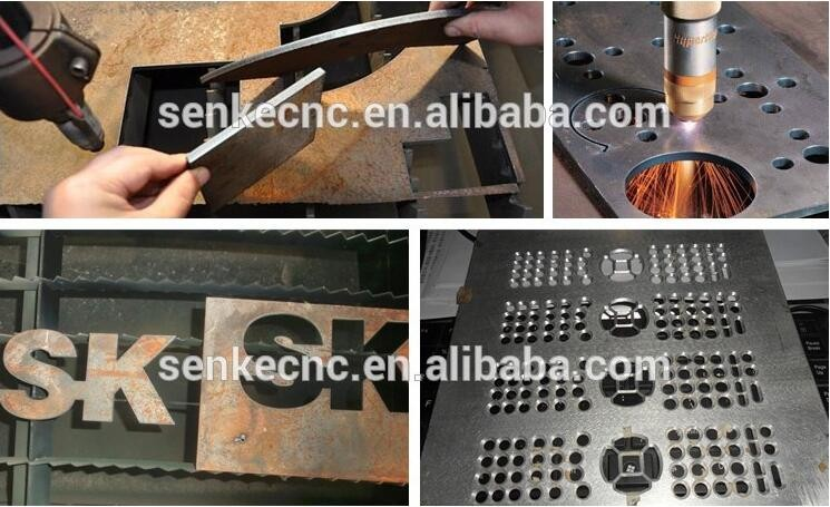 Trade assurance table type cnc plasma cutting machine for aluminum, iron, steel cutting