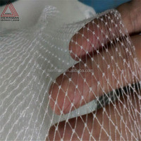 (HERRMAN)White single Knit fish net/fishing net