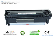 factory direct sales compatible for hp 12a virgin empty toner cartridge