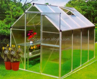Begreen aluminum frame greenhouse, garden used greenhouse for sale, hobbie greenhouse