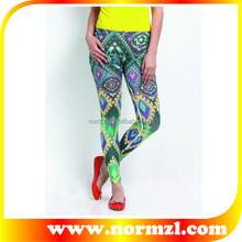 sexy women tubes compression polyester spandex leggings