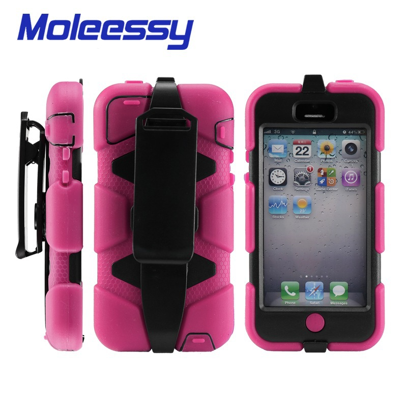 Shockproof unbreakable mobile phone case for iphone 5c