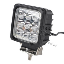27w High quality Motorcycle work light led light off road,LED truck light