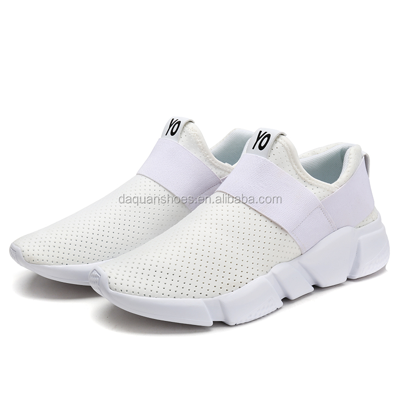 2017 factory bulk wholesale customize sports trainer, women and men slip on sports shoes from jinjiang factory