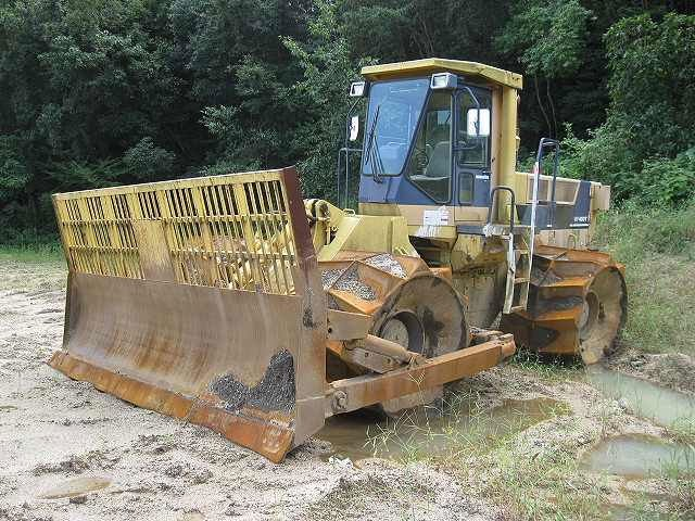 Used Compactor Komatsu WF450T - 1 <SOLD OUT>