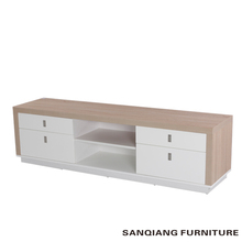 SANQIANG modern wrought iron tv stand wooden tv rack designs