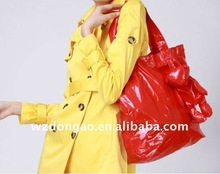 fashion bear foldable shopping bag ,made of polyester pongee